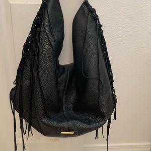 Rebecca Minkoff black fringe bag